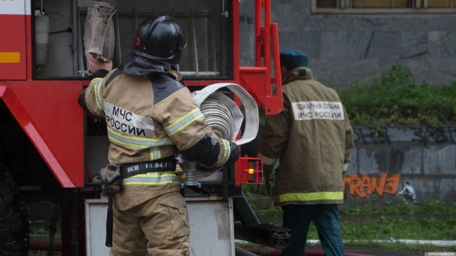 Смертельный пожар: в Красном Коммунаре погиб пенсионер