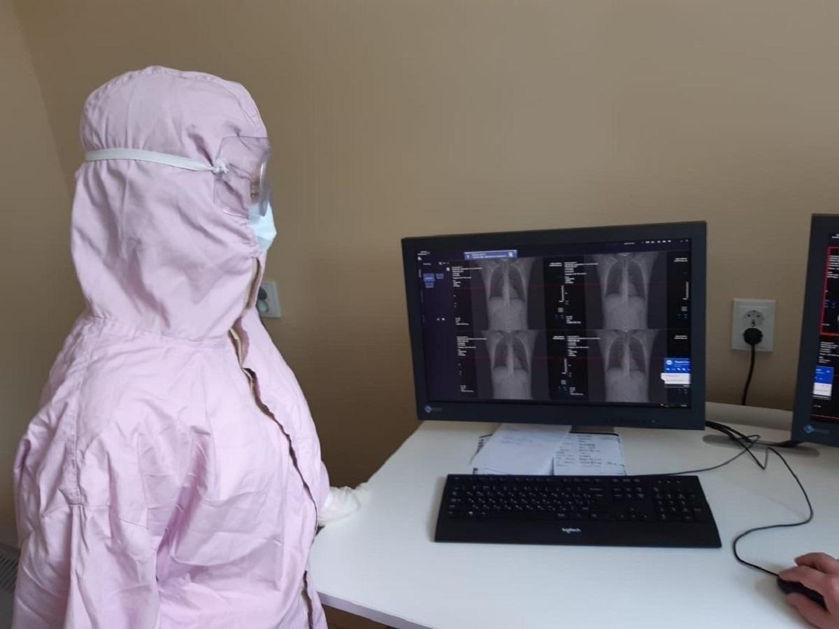 В Плешаново открыли отделение для пациентов с коронавирусом