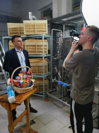 Руководитель ООО «Оренбургхладокомбинат» Юрий Камышников стал лицом кампании Россельхозбанка в поддержку отечественных аграриев