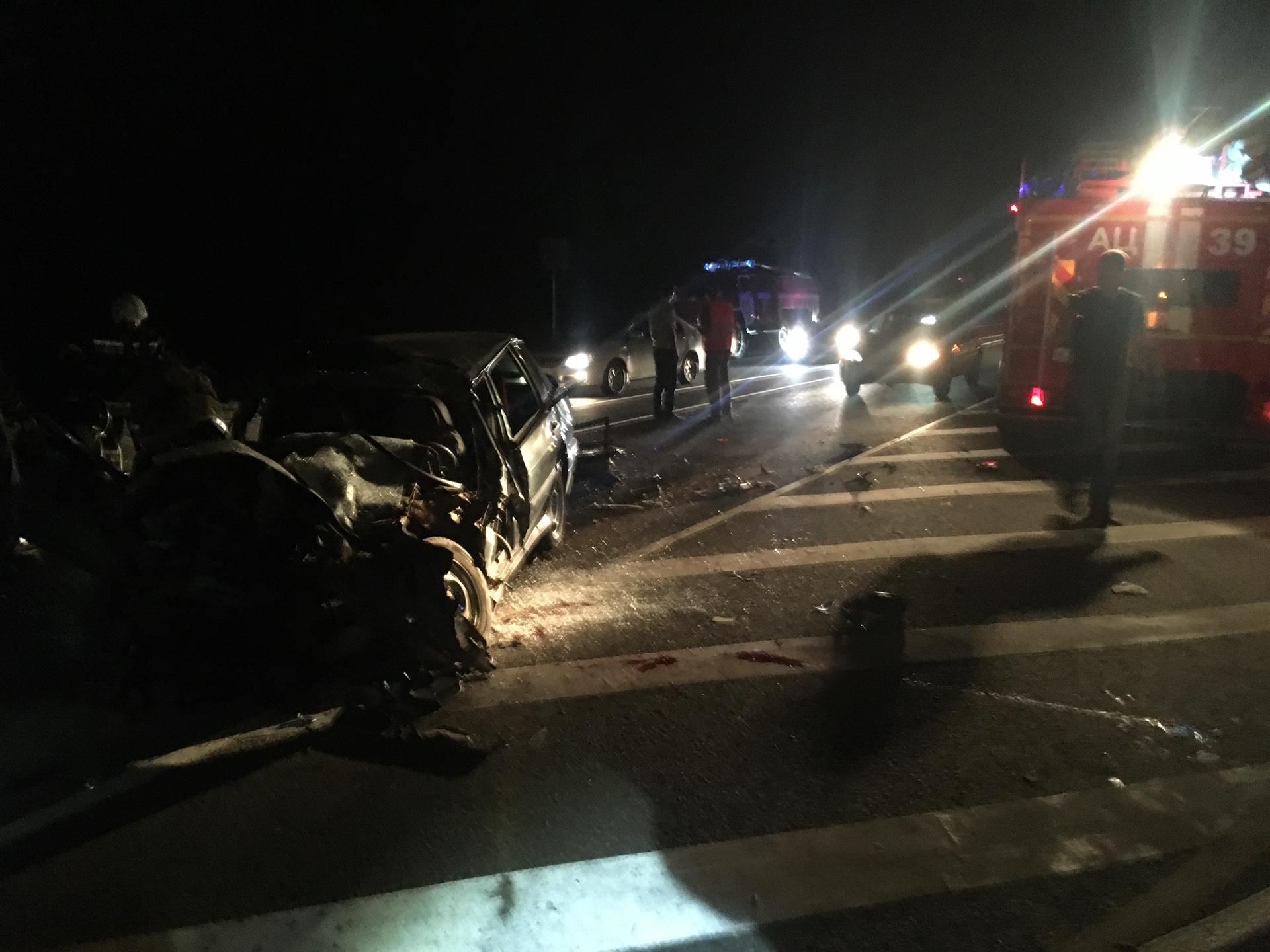 Смертельное ДТП на оренбургской трассе: спасатели деблокировали пострадавшего