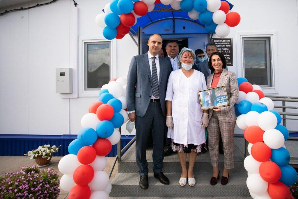 Паслер и Савинова проверили больницы Пономарёвского района
